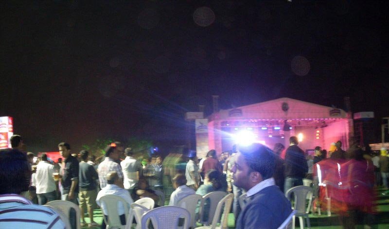 KK on stage