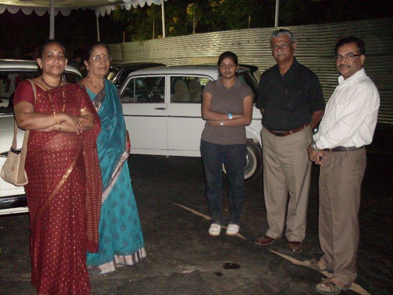 Mr.Sridhar(Black shirt) n Sujith's Families